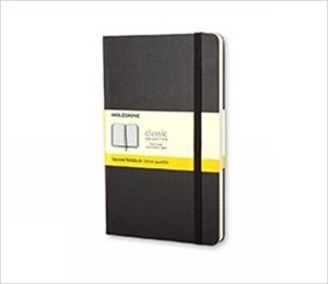 Moleskin Notebook with Graph Paper